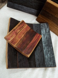 Wine Barrel Stave Trays
