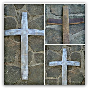 Creating an elegant cross out of wine staves.   Showing at High Point Mkt. this month.  SAMS #1-749