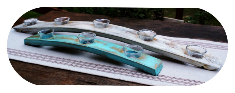 Stave Votive Holders  Available in now in Color!