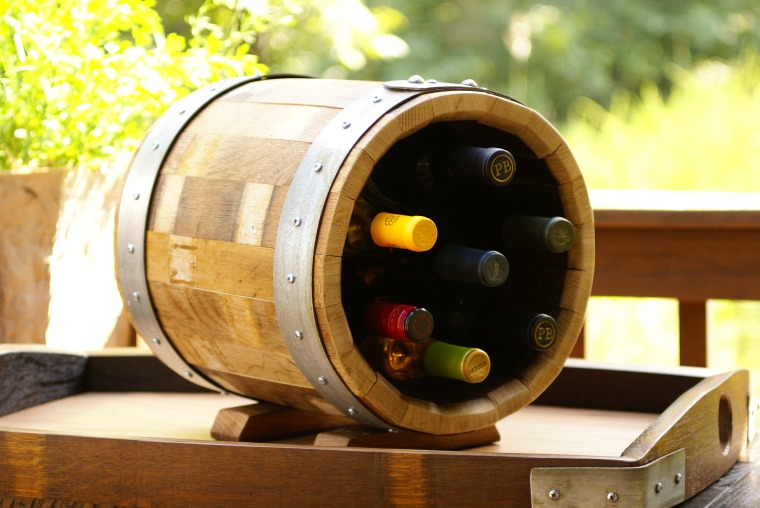 Wine Barrel Cube