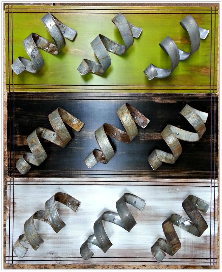 Pine Wine Rack by Sono Inspired. Incorporating retired, barrel rings.