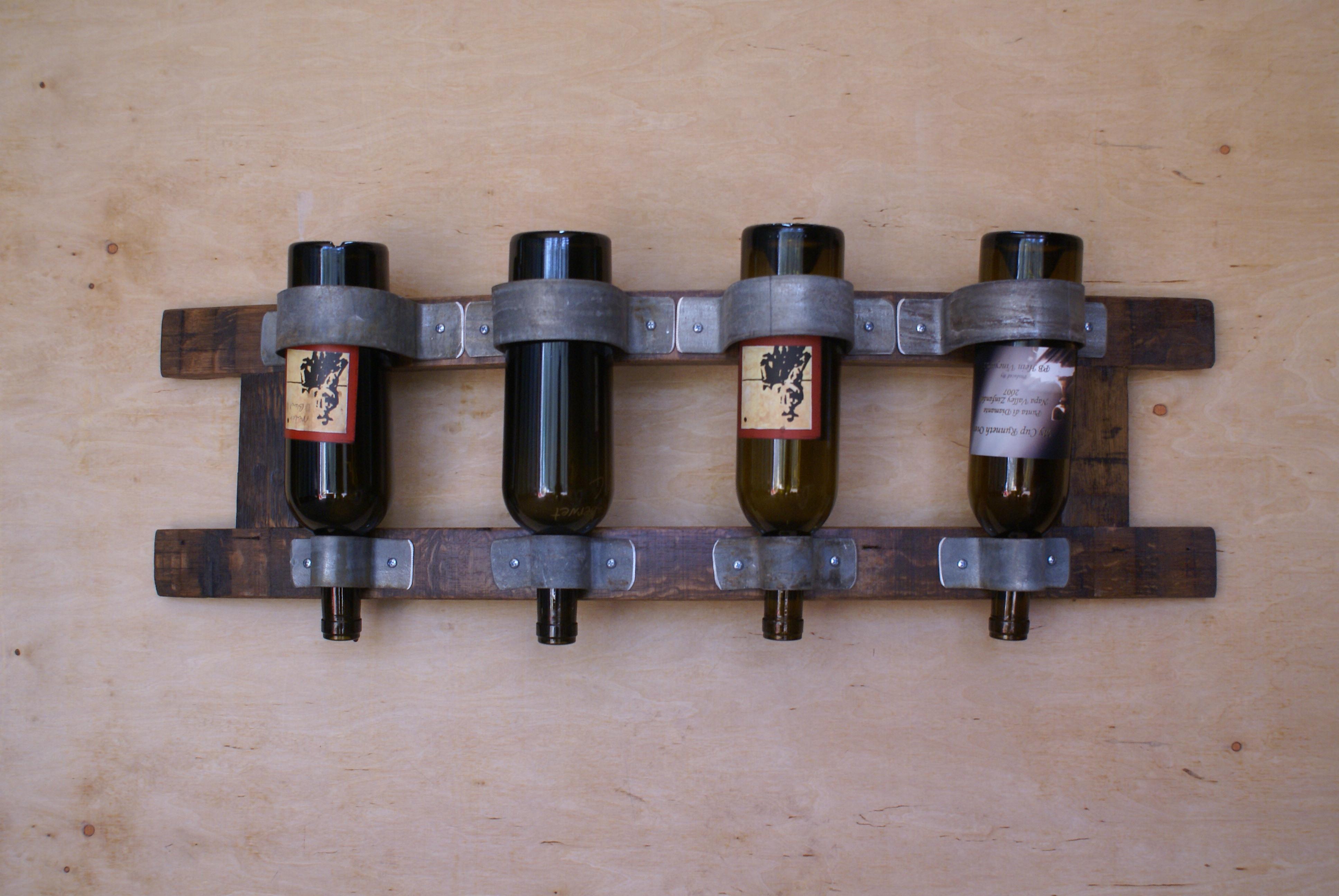 coat  wine racks – sono inspired - stave wine rack – horizontal swrh